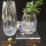 Vaso promozionale della decorazione della bottiglia di vetro del reticolo della banda del regalo