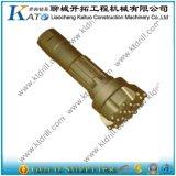 DHD 340 8 bits de foret élevés de marteaux de la pression atmosphérique DTH de cannelures