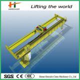 中国の製造者の研修会のホックが付いている電気二重ガード橋クレーン