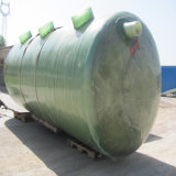 Бак пластичного Biogas стеклоткани FRP септический для неныжной обработки