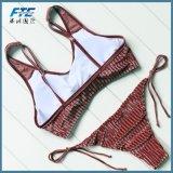 Оптовая торговля женщинами и сексуальная бархата купальный костюм 2 Элемент линии бикини