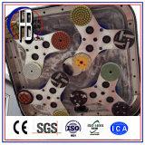 판매를 위한 4개의 헤드 분쇄기 에폭시 화강암 콘크리트 표면 지면 가는 닦는 기계