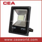 50W pleine puissance 85-265V Slim Jardin lumière des projecteurs à LED