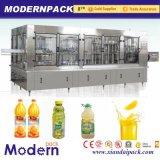 1개의 음료 차 채우는 선 또는 최신 충전물 기계에서 3
