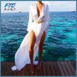 Sommer-Frauen-Bikini-Vertuschung-Badebekleidungkaftan-Beach-Kleid