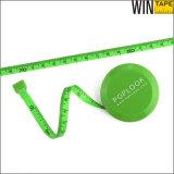 Mini nastro di misurazione del fabbricato del tester della vetroresina ritrattabile rotonda del PVC (RT-041)