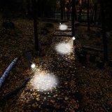 Impermeabilizzare 4 LED l'illuminazione esterna solare del giardino dei 200 di lumen della parete degli indicatori luminosi della in-Terra degli indicatori luminosi dei riflettori di obbligazione di illuminazione indicatori luminosi solari del percorso