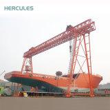 Grues de construction de grue de portique de grue de 60 tonnes