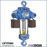 LIFTKING 10t Dual Speed eléctrico Alzamiento de cadena con la carretilla eléctrica