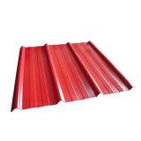 Lamiera di acciaio galvanizzata ondulata colore