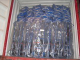 Trole de borracha Ht1805-1 da mão do caminhão de mão da roda