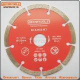 blad van de Zaag van het Segment van de Diamant van 125mm het Droge voor Marmer, Concreet Graniet,