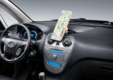 Sostenedor giratorio del teléfono del coche del imán del metal de 360 grados, sostenedor magnético del coche del teléfono móvil