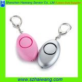 Alarme personnelle portative de la défense de protection d'individu d'alarme avec l'éclairage LED