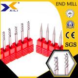 2/3/4 Outils de la Flûte Metal-Cutting machine CNC aluminium fin Mill