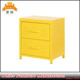 Fas-128 Gaveta dois armários metálicos móveis para crianças