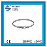 De Band van het Sluiten van het roestvrij staal voor de Uitrustingen van de Verwarmingspijp van de Schoorsteen met Ce- Certificaat