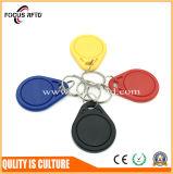 Plástico impermeável RFID Keytag para a solução do controle de acesso