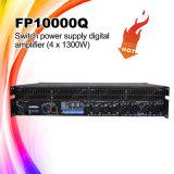 versterker van de Macht van de Serie van de Lijn van 1300W X4 CH de Professionele Digitale
