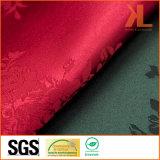 Poliéster Calidad Jacquard Rosa Damasco Diseño Wide Width Table Cloth