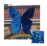 2018 Nouveau brevet Muticolor Glitter Creative Design décoratif papier peint