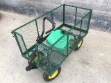 Carro de jardim de serviço público da jarda do vagão