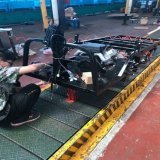 azienda agricola UTV del motore 150cc con il circuito di collegamento di Storge