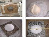 Kashmireの白いカウンタートップ、Kashmireの白い平板、カウンタートップ、白い花こう岩