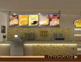 De aan de muur bevestigde Adverterende Raad van het Menu van het Restaurant
