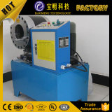 Marcação fácil operar convenientemente máquina de crimpagem da conexão de alta eficiência