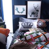 Casa de lujo la ropa de cama colchas de algodón Sábana tapa