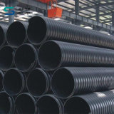 ISO HDPE 강철 밴드 강화된 합성 나선 물결 모양 관