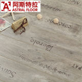 Waterproof Laminate Floorの木の8mmおよび12mm Silk Surface