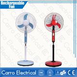 熱いSell 16inch 12V Solar Rechargeable Fan