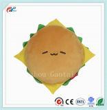 Piccolo giocattolo creativo dell'hamburger 20cm della peluche dell'alimento del Brown