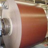 La couleur de PPGL a enduit les bobines en acier galvanisées enduites d'une première couche de peinture galvanisées de tôle d'acier