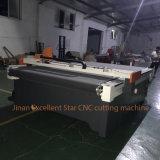 Máquina de estaca de vibração de alimentação da faca do automóvel excelente da estrela para os materiais flexíveis 2516