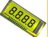 Segment LCD-Bildschirmanzeige-3es-polig Serietn-Positiv des Monochrom-7