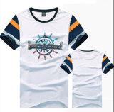 Fashion Crew Neck Short Sleeve T Shirt pour hommes