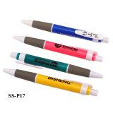 도매는 로고 디자인 플라스틱 공 점 펜을 주문을 받아서 만들었다