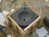 Het geslepen Chinese/Aziatische Natuurlijke Blauwe van het Kalksteen Bassin/de Gootsteen van China/voor Badkamers en Keuken