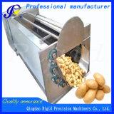 Machine à laver d'écaillement de balai pour le manioc de raccord en caoutchouc de pomme de terre
