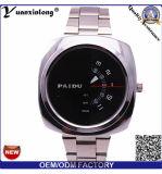 Dos relógios os mais novos dos homens do relógio de Yxl-727 relógio de pulso de couro Relogio Masculino da faixa Paidu