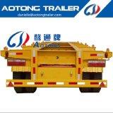 Aotong 3 constructeurs squelettiques de remorques de camion de conteneur de port terminal d'essieu