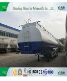 Koolstofstaal 50cbm de Semi Aanhangwagen van de Tanker van de Brandstof van de Tank van de Olie