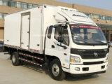 Foton 6つの車輪ミルクおよび大会の輸送のトラック6つのT冷却装置ワゴン