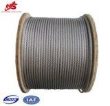 Norme de la corde galvanisée par câble 7X7 ASTM de fil d'acier d'avions