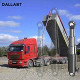 ダンプカートラックのための単動望遠鏡の多段式3/4/5本の段階油圧オイルシリンダー