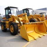 Maquinaria de movimiento de tierra, la cargadora de ruedas con 3 toneladas de peso de carga