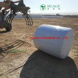 Película plástica del abrigo del ensilaje del uso de la granja
